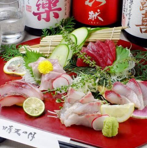 晴天の月 大井町 居酒屋 西口 個室 海鮮 魚介 和食