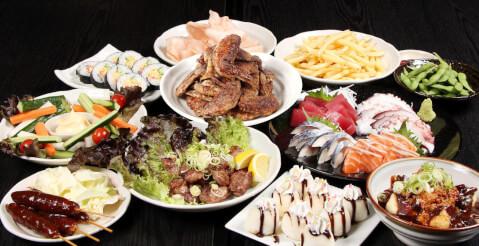 名古屋 居酒屋 栄 世界の山ちゃん 食べつくしコース