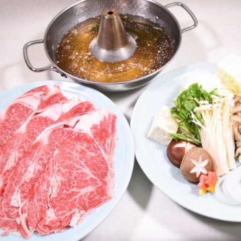 秋葉原 居酒屋 和食 初つぼみ 黒毛和牛のしゃぶしゃぶ鍋