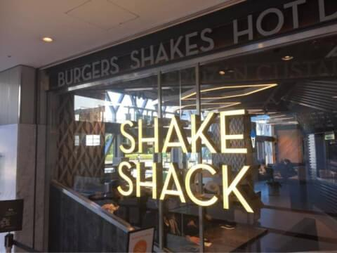 Shake Shack 新宿サザンテラス店 新宿 ハンバーガー おすすめ