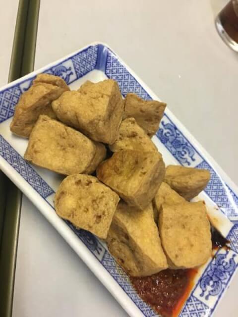 上海小吃 新宿 臭豆腐 おすすめ