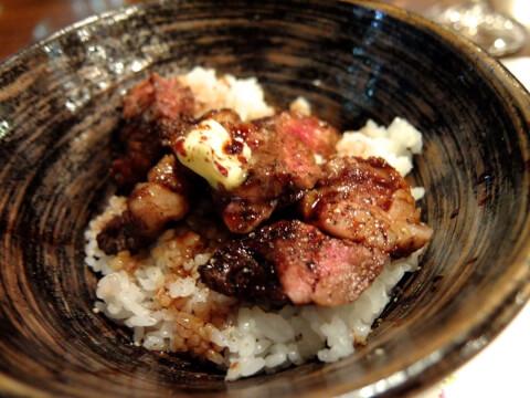 浜松町 洋食や シェノブ ビフテキ丼