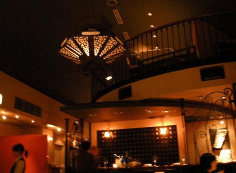 渋谷 ディナー フレンチ  シノワ 店内