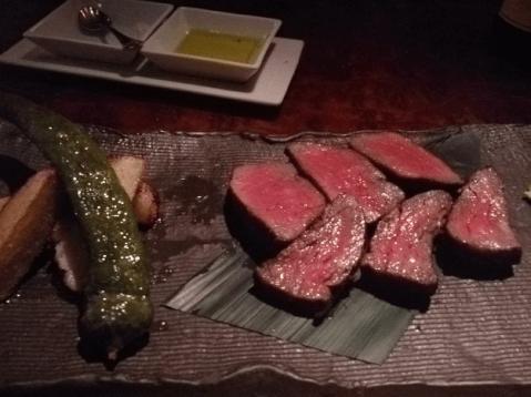 渋谷 ディナー フレンチ  シノワ ステーキ