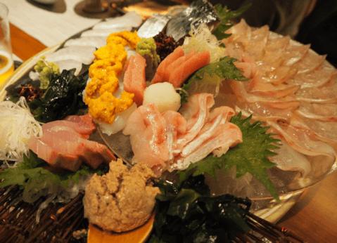 渋谷 ディナー 和食 いまここ 幸せ三昧コース