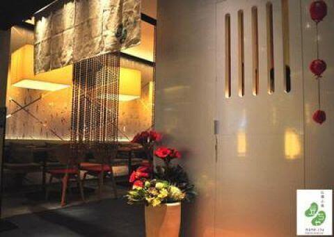 新宿 ディナー 石塀小路 豆ちゃ おしゃれな店内