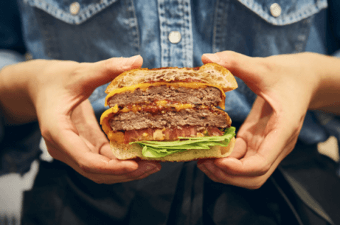 shogun burgerのバーガー