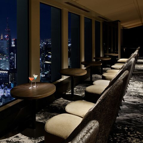 スカイラウンジ オーロラ 東京 ホテルレストラン