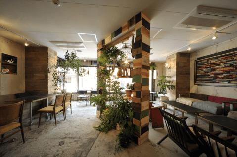 サロカフェ 新宿三丁目 おすすめ ランチ カフェ