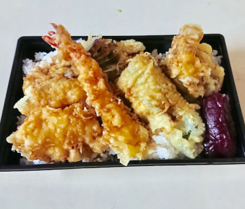 赤坂三平の天丼弁当