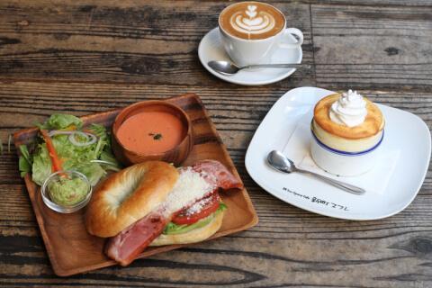 osaka-shinsaibashi-funspacecafe-sandwichlunch