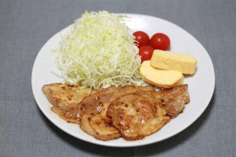 業務スーパーの食鮮肉を使った生姜焼き