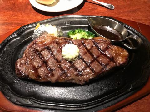 肉の万世ステーキハウス サーロイン