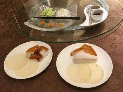 目黒 ディナー 中華 旬遊紀 北京ダック