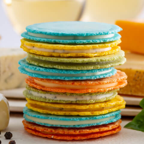 退職のギフトに人気のおしゃれなお菓子、シマヒデのクアトロえびチーズ