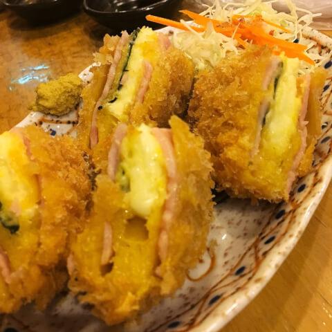 おでん 多古菊 渋谷 居酒屋 道玄坂 安い 和食 チーズハムカツ