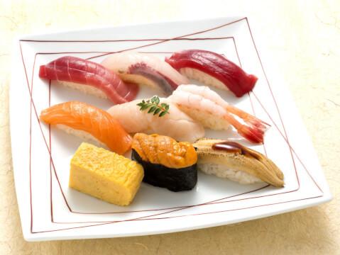 玉寿司ディナーのセットメニュー