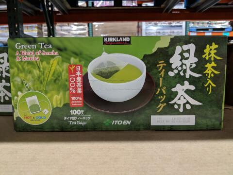 KS 伊藤園 抹茶入り緑茶 ティーバッグ 100袋(1.5g×100)150g