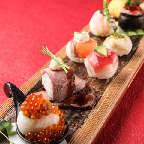 てまり寿司 個室風流七色てまりうた 新宿 新宿三丁目 居酒屋 おすすめ おしゃれ