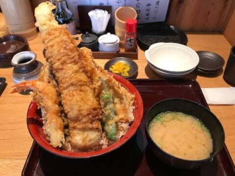 てんぷら 海鮮 五福 梅田 ランチ 東梅田 和食
