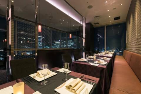 東京駅 ディナー Dining&Bar TENQOO 夜景 ホテルディナー