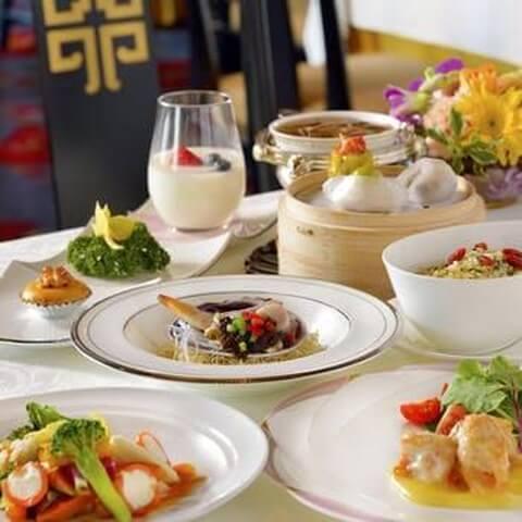 点心3種盛り 梨杏 名古屋 ランチ おすすめ ホテルレストラン 記念日