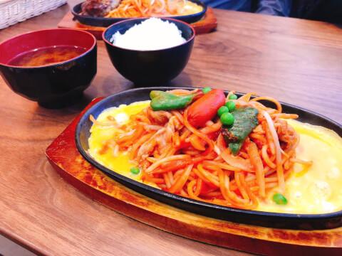 「喫茶ユキ」の鉄板スパゲッティ