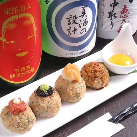 つくね 神楽坂てしごとや 霽月 おすすめ 居酒屋 老舗 日本酒 和食