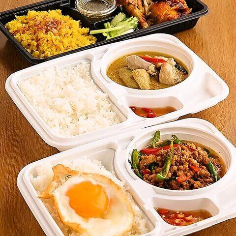 タイ料理のテイクアウト
