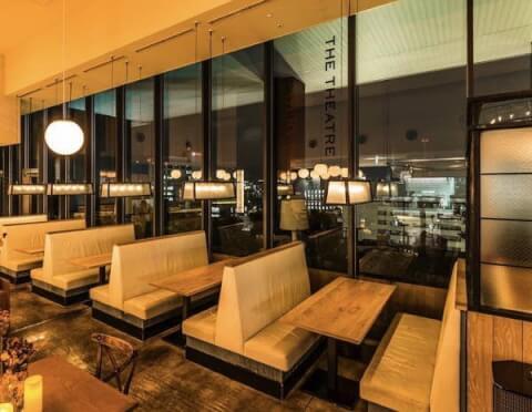 渋谷 ディナー ダイニング  ザシアターテーブル 夜景 テラス席