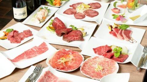 特選和牛と産直野菜 牛炙 名駅店 名古屋 デート ディナー ランチ おすすめ