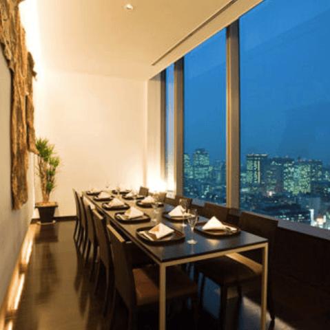 花山椒パークホテル東京店 ホテルレストラン 新橋 おすすめ 東京 日本料理 和食 個室