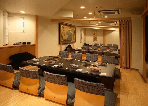 東京 新宿 焼肉食べ放題 六歌仙 宴会用個室