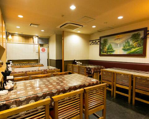 ナノチャイナ 市ヶ谷 東京 おすすめ 酸辣湯麺 個室