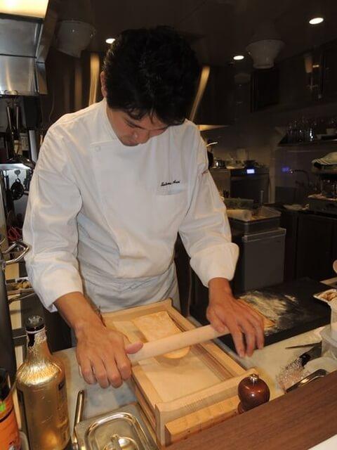 シェフの作るキタッラパスタ トムクリオーザ 梅田 ディナー 北新地 堂島 イタリアン 肉