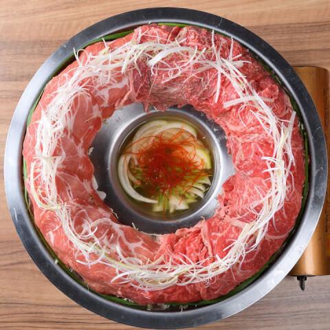 松阪豚と松阪牛の合わせ肉炊き