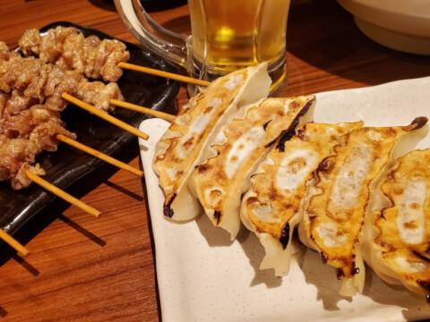 立川 居酒屋 とりいちず とりの焼き餃子