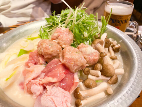 田町 居酒屋 とりいちず 水炊き コスパ抜群 安い 美味しい