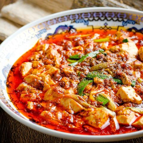 浜松町 ディナー 中華 唐文記 麻婆豆腐