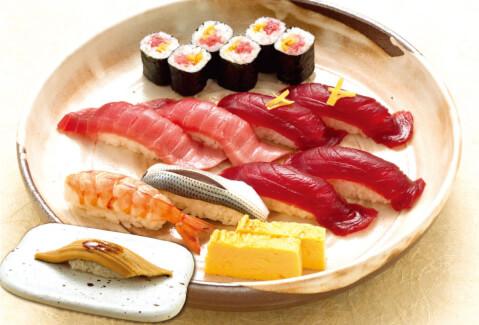 玉寿司のセット