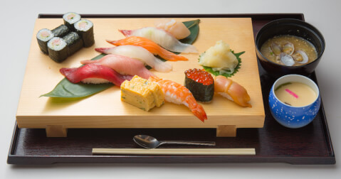 築地竹若の寿司握り
