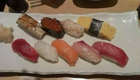 築地寿司 握り