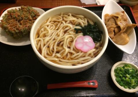 うどんsugita料理