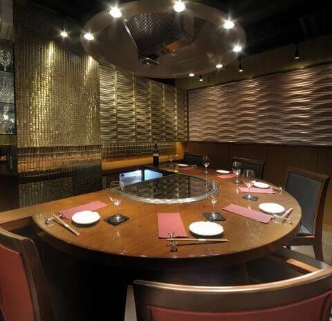 上野 ディナー ステーキダイニング鷹 半個室席