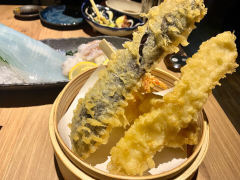 天ぷら 海鮮 米福 梅田 居酒屋 北新地 和食