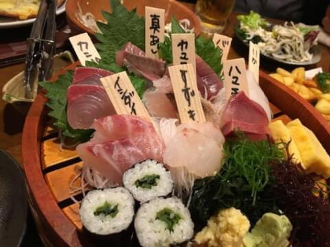 海ぶね 新横浜店 居酒屋 海鮮 魚 おすすめ 個室