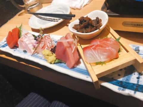 豆腐飯 築地もったいないプロジェクト 魚治 有楽町 居酒屋 おすすめ 海鮮 魚介 和食 安い