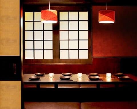 秋葉原 居酒屋 魚の間 おしゃれな個室