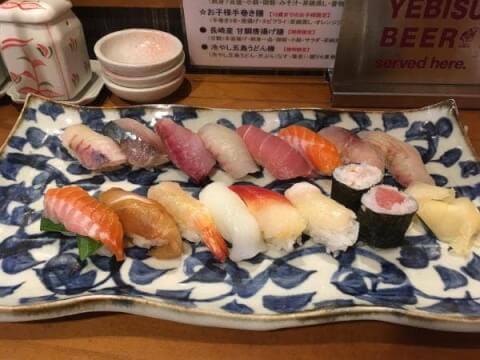 長崎 居酒屋 魚たつ 五島 ランチ 寿司