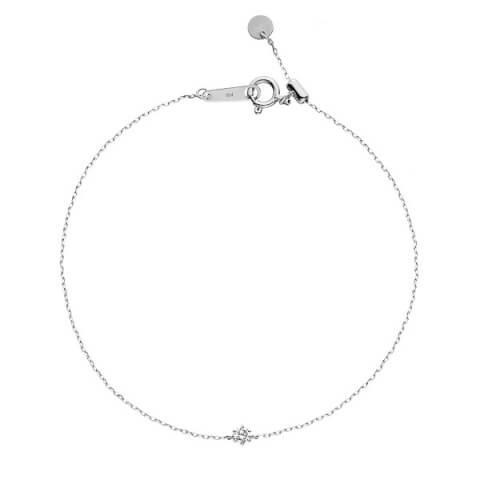 ヴァンドーム青山 プラチナ ダイヤモンド ブレスレット ホワイトデー プレゼント